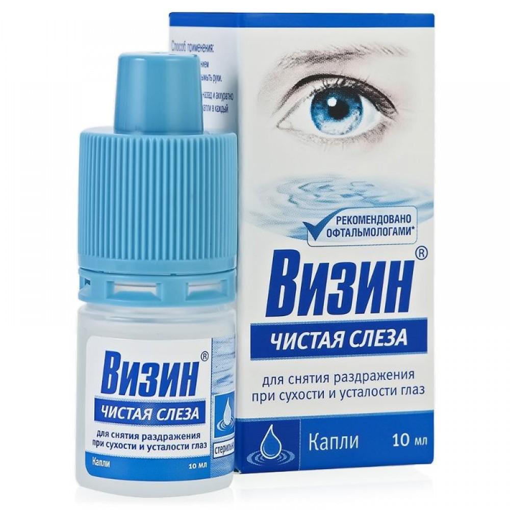 Глазные капли ВИЗИН - польза или вред? Отзывы.